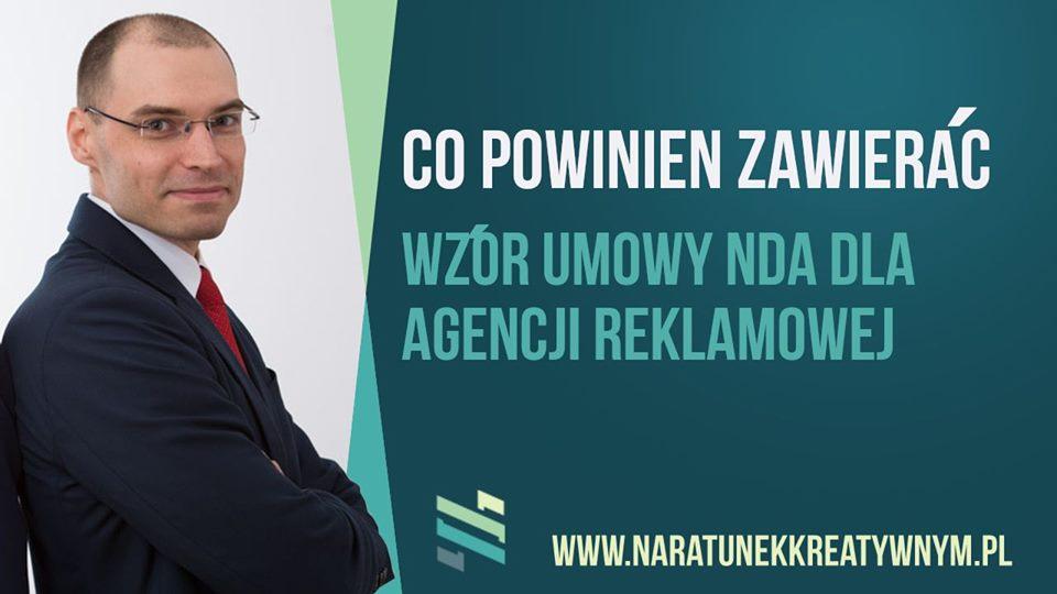 Wzór umowy NDA dla agencji marketingowej
